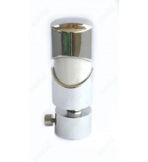 White ss colour cylindrical design shiny finish ss finial