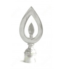 Traditional diya design ss finial