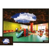 3d big hole terracotta wallmural ceiling wall décor