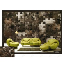 3d puzzle blocks wall mural