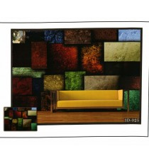 3d big dark colourful square blocks wall mural