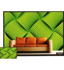 3d close view weave lagoon green thread wall mural