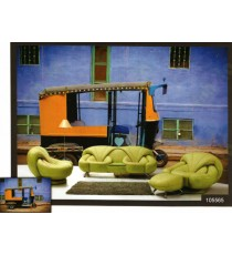 3d old model three wheeler auto wall mural
