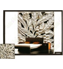 3d white banana tree wall mural
