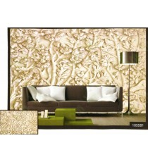 3d white traditional spring season floral tree wall mural
