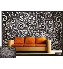3d beautiful floral design wall mural