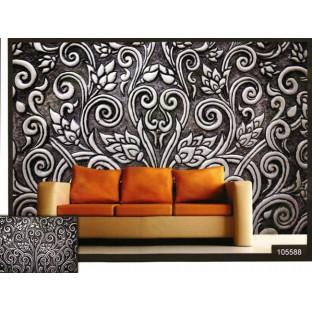 3d beautiful floral design wall mural