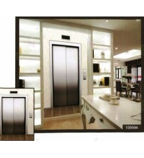 3d building steel finish lift wall mural