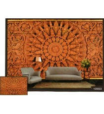 3d traditional design wall mural
