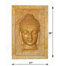 Gold colour beautiful buddha frame