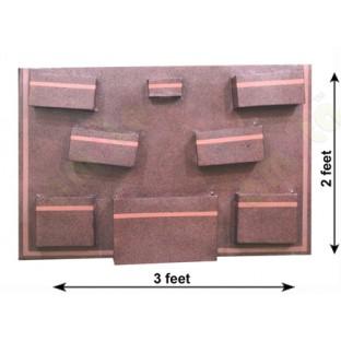 Brown copper colour box fountain