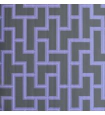 Black purple puzzle pipes home décor wallpaper