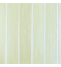 Yellow white vertical stripes home décor wallpaper