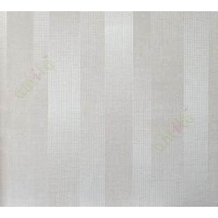 Beige brown self texture vertical stripes home décor wallpaper for walls