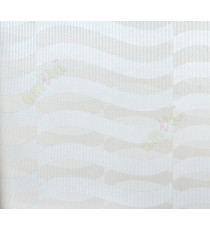 Beige white contemporary horizontal stripes home décor wallpaper for walls