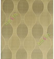 Black gold colour ogee design home décor wallpaper for walls