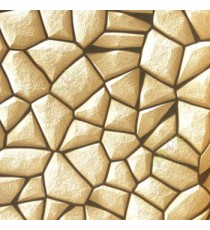 Beige black color natural stone finished geometric shapes stone claddings fine texture surface 3D home decor wallpaper