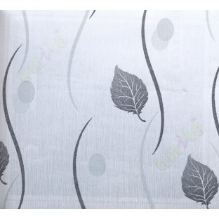Black White Gold Grey Abstract Design Leaf Ovel Shape Trendy Lines Home Decor Wallpaper For Walls