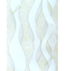 White gold grey colour elegant vertical trendy design home décor wallpaper for walls