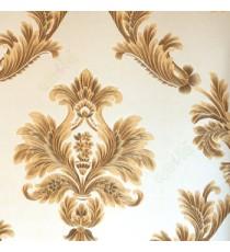 Beautiful big damask black gold beige carved finished design texture background wallpaper