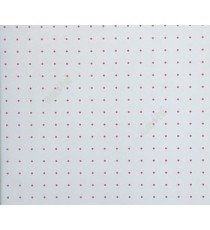 Beautiful polka dots in grey and red color texture finished geometric small dots in texture anti slip finished decorative wallpaper