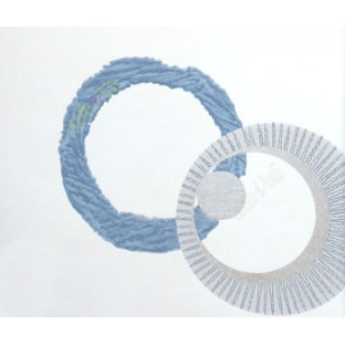White blue silver color geometric circles human eye texture circle smoke ring stitched circle wallpaper