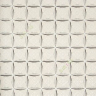Grey White Gold Color Abstract Design Star Pattern Diamond Sharp Edge Shapes Texture Background Self Crossing Lines Home Decor Wallpaper