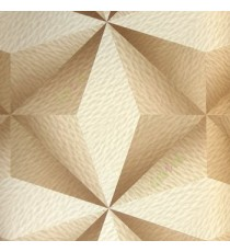 Brown beige color traditional square diamond shapes 3D design star texture pattern horizontal and vertical random lines color scales home décor wallpaper