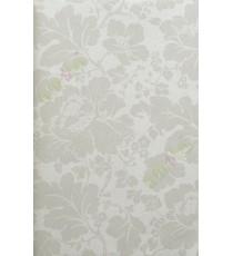 Beige self design motif floral home décor wallpaper for walls