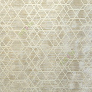 Yellow Beige Grey Color Abstract Design Dimaond Shaped Geometric Patterns Texture Background Carved Lines Wallpaper