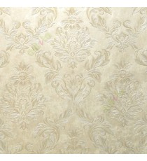 Beautiful damask pattern beige gold light brown traditional finished embossed designs clear pattern wallpaper