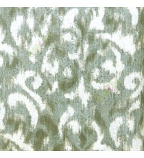 Black beige green color traditional patterns with texture finished damask design wallpaper