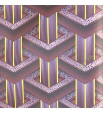 Dark purple black beige color geometric pattern with yellow vertical bold stripes purple beige texture gradients surface wallpaper