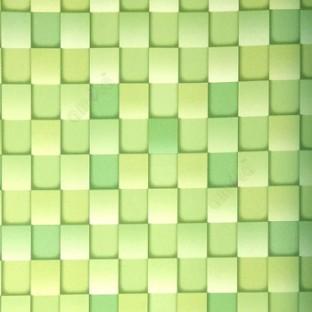 Lime Green Ligh Black Color Geometric Pattern Square Box Same Chess Board Wallpaper