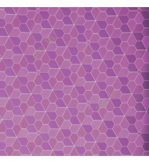 Dark purple and silver seamless connected flora flat patterns star and geometric design colorful wallpaper