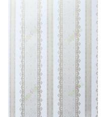 Beige gold color vertical designer stripes home décor wallpaper for walls