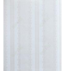 Beige silver color vertical designer stripes home décor wallpaper for walls