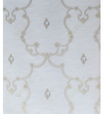 Beige gold silver traditional design home décor wallpaper for walls