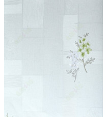 Beige green silver grey white contemporary design with beautiful flower home décor wallpaper for walls