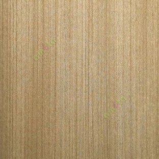 Golden brown color vertical very fine stripes texture lines surface carved  designs home décor wallpaper