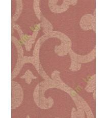 Red golden colour beautiful big motif design home décor wallpaper for walls