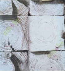 Black white brown colour cut tree finish home décor wallpaper for walls