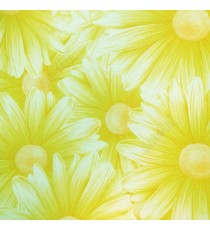 Awesome big beautiful flower looks like real 3D pattern green white beige combination color of daisy flower wallpaper