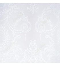 Beige white colour beautiful traditional design design home décor wallpaper for walls