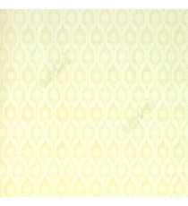 Beige cream color traditional hexagon shaped texture finished wallpaper