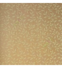 Brown beige gold color small leaf pattern traditoinal  beautiful leafy designs wallpaper