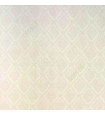 Baby pink gold color small damask with crossing chian border pattern wallpaper