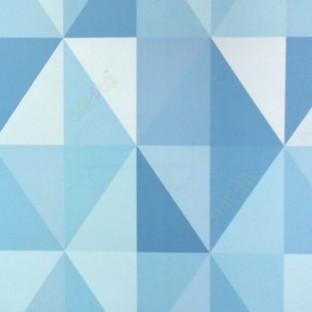 Abstract Design In Purple Blue Beige Color Diamond Geometric