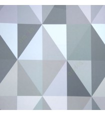 Abstract design in purple grey beige green color diamond geometric shaped wallpaper