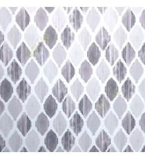 Black cream grey purple color digital ikat pattern traditional look oil painting wallpaper